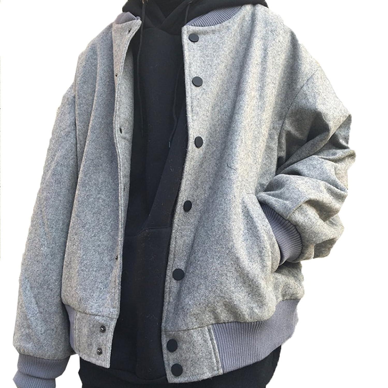 TAOHUA レディース ラシャコート 厚くコート 新番 フードジャケット スウェット パーカー 野球服