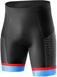 INBIKE Bike Shorts Men with Moisture Wicking Breathable Padding Durable Cycling Half Pants