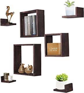 Best wall mounted square shelves Reviews