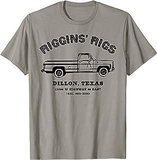Riggins Rigs Football Player Fan Shirt