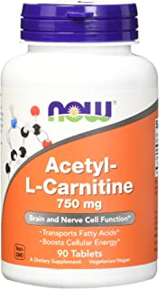 Now Acetyl-L Carnitine 750 mg,90 Tablets