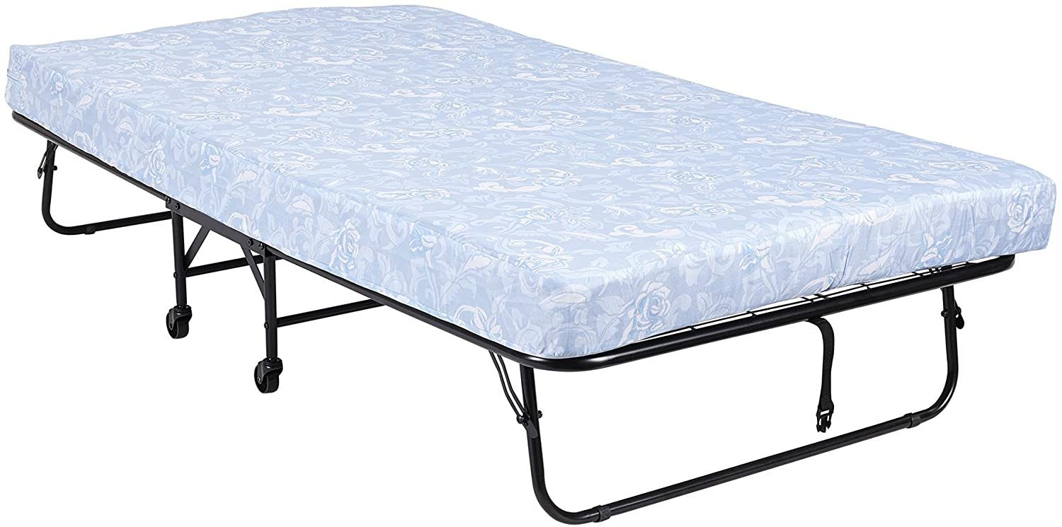 DHP Folding Metal Guest Bed with 5