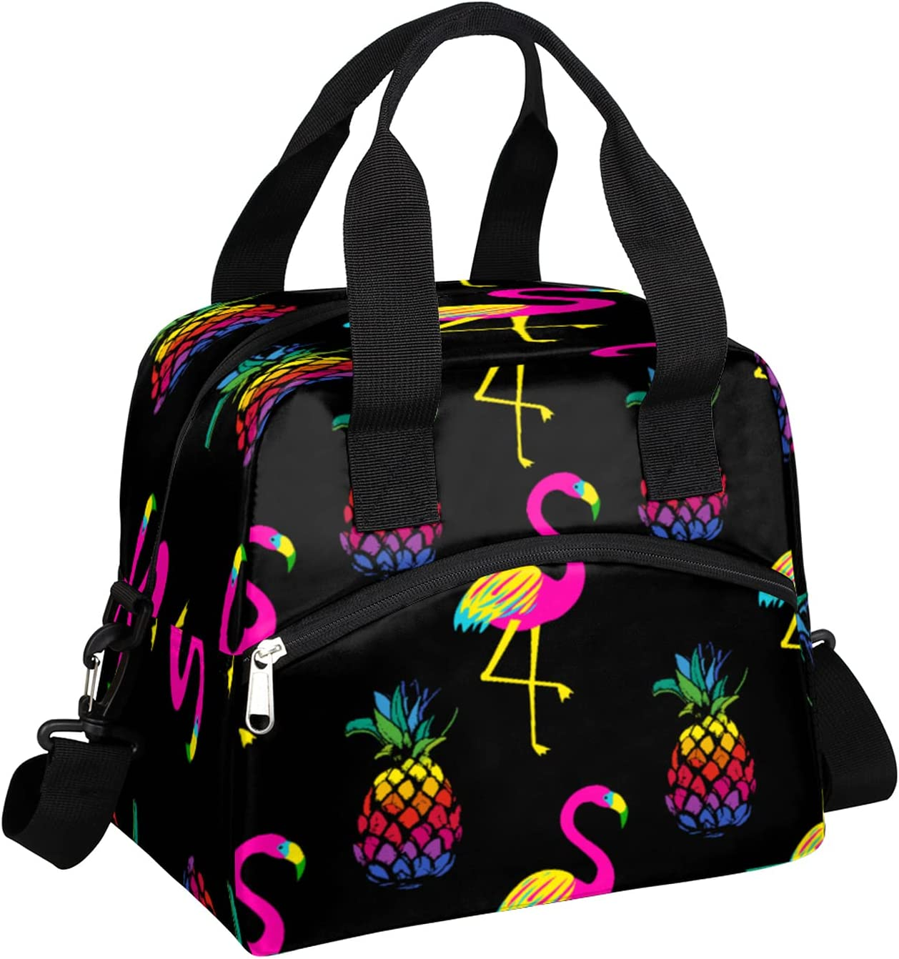 Insulated Lunch Portland Mall Bag for Women Men Pineapple Fruit - Le Flamingo Max 90% OFF