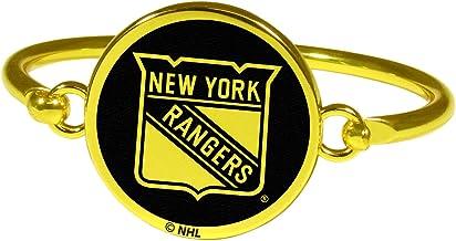 Siskiyou Sports NHL Ottawa Senators Tone Bangle Bracelet, Gold, One Size