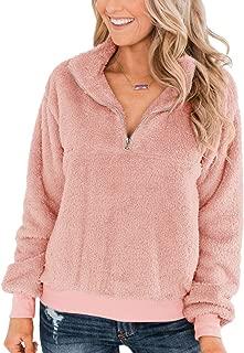 Best pink zip sweatshirt Reviews