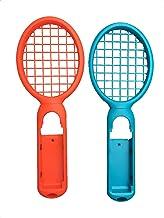 NS Switch Joy-con テニスラケット ハンドルホルダー マリオ テニスエース ブルー/レッド