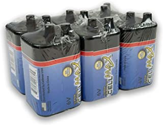 CellMax, Super Heavy Duty 6-Volt Lantern Battery - Pack of 6