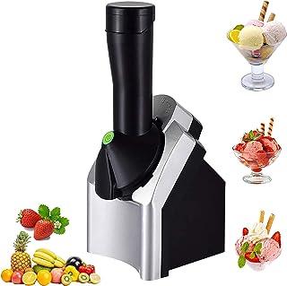 Machine à crème glacée portative, machine à crème glacée de dessert de fruits pour les sorbets de crème glacée d'enfants a...