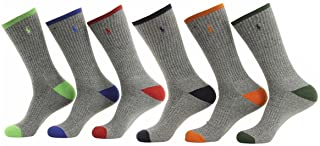 6-Pack Athletic Sports Long Socks