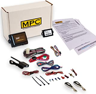 MPC Complete 1-Button Remote Start Kit for 2005-2008 Toyota Corolla - Includes Bypass - Firmware Preloaded