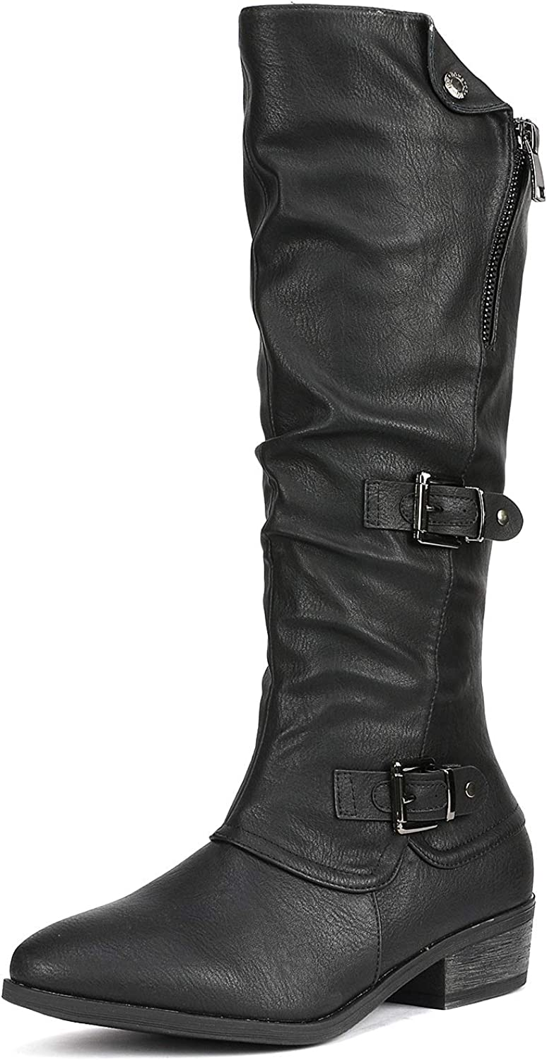 DREAM PAIRS Women's PARKAR Winter Knee High Boots