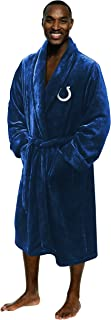 Indianapolis Colts Official NFL Large/X-Large Silk Touch Men's Bathrobe, Football Sports Themed, Team Logo