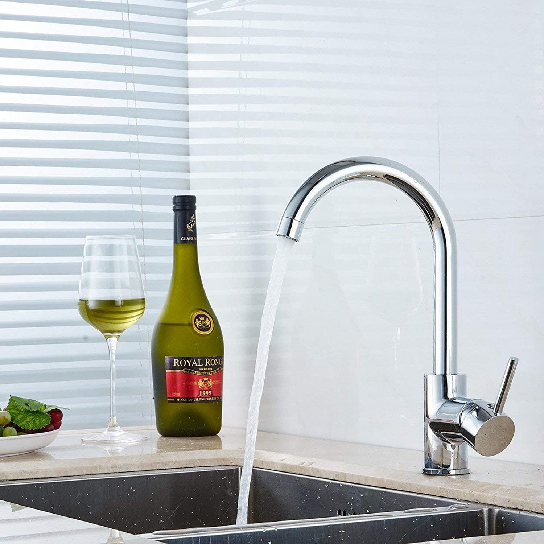Oudan Basin Mixer Tap Bathroom Sink Faucet Chrome basin taps, 3 (color   35)