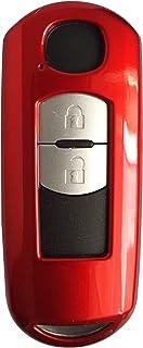 CK+ Mazda Auto Schlüssel Hülle ABS Lack Key Cover Case Etui für 3 2 6 CX 5 MX 5   Rot