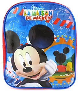 Mochila niño 'Mickey'tutti frutti azul (24 cm).