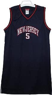 SEL Sportswear Jason Kidd #5 Navy Blue Throwback Jersey Dress