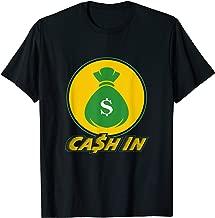 Cash In Wrestler Gift | Money Bank Wrestling Event T-Shirt
