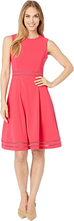 Fit & Flare with Trim Detail at Waist and Hem CD9C312C
