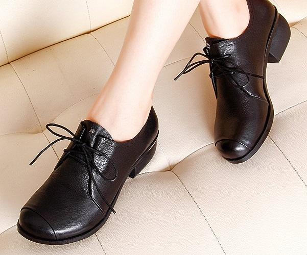 YTTY dans Les Chaussures avec des Chaussures Rondes avec des Chaussures Rondes avec des Chaussures Décontractées Noir 40