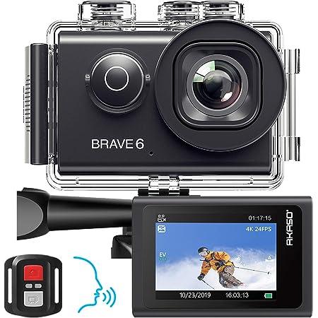 Akaso Brave 6 Action Cam 4k 20mp Wifi Sprachsteuerung Kamera