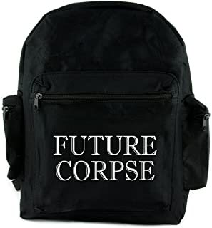Future Corpse Death Funeral Backpack School Bag Gothic Alternative Clothing