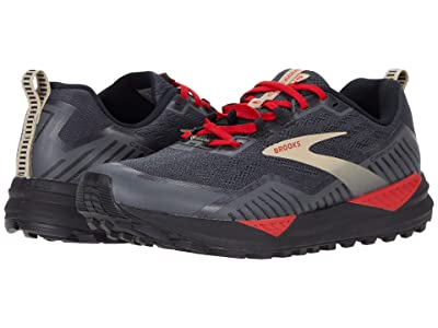 Brooks Cascadia 15 GTX(r) (Black/Ebony/Red) Men