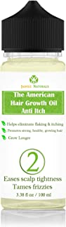 The American Hair Growth Oil, Anti itch Grow Longer N2