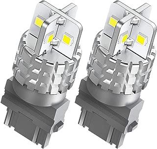 AUXITO 3157 LED Bulbs White 3156 3056 3057 4157 Back Up Reverse Light LED Bulbs 360 Degree Lighting 3030SMD Turn Signal Light Brake Tail DRL Parking Light, Pack of 2