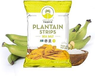 Sea Salt Plantain Chips - Vegan Snacks - Healthy Snacks - Paleo Snacks - Gluten Free Snacks - Whole 30 Approved Foods - Ba...