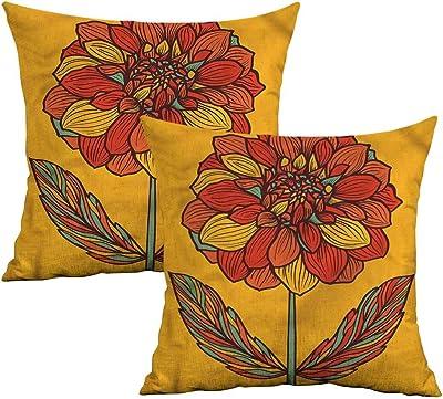 cd42bdcc748d Amazon.com: Decorative Home Golden Jellyfish Pillow Case Cover ...