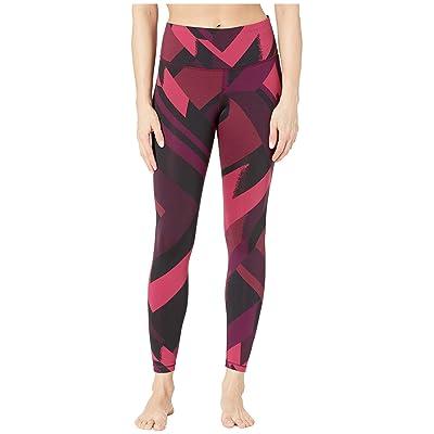 Brooks Formation Crop Pants (Plum Eclipse Jacquard) Women