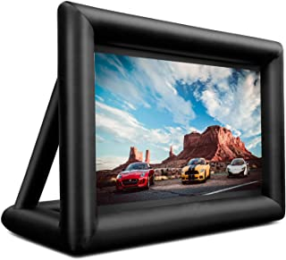 Sponsored Ad – Inflatable Movie Screen 16 Feet HUGE Outdoor and Indoor Theater Mega TV portable projector screen Supports ...