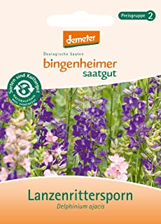Bingenheimer Saatgut - Lanzenrittersporn - Blumen Saatgut / Samen