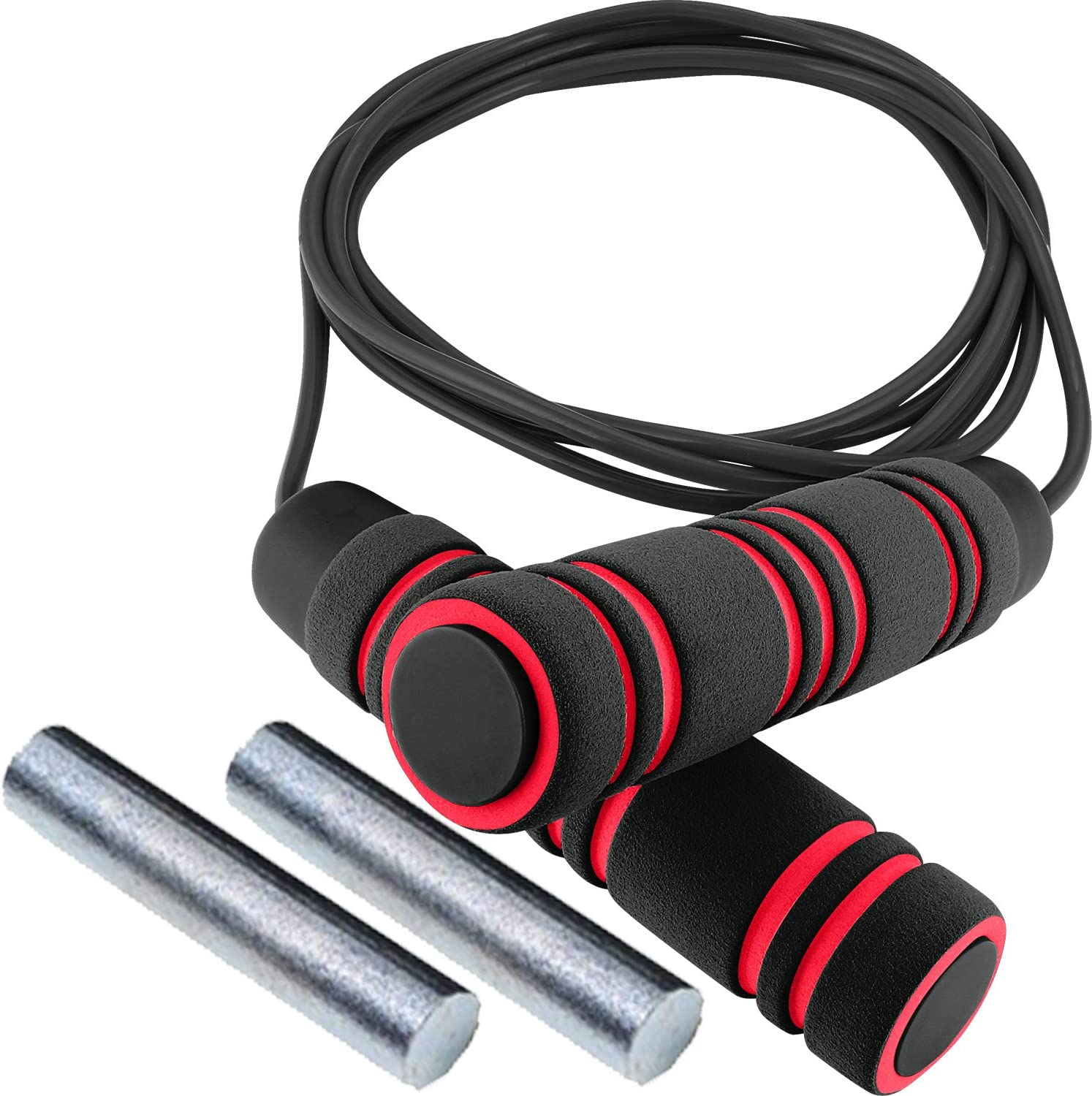 Plastic Speed Skipping Rope Boxing Fitness Jumping Crossfit Weighted Gym Exercis
