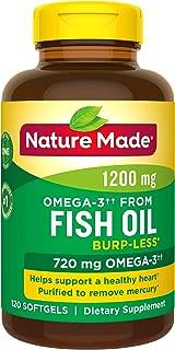 Nature?Made?天维美?欧米伽3深海鱼油软胶囊 120粒(每天1粒)