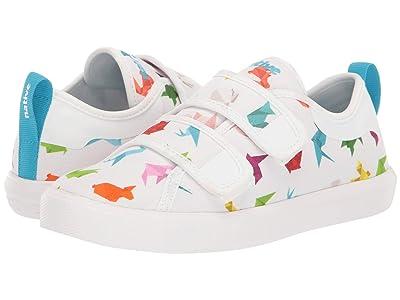 Native Kids Shoes Monaco HL Canvas (Little Kid) (Shell White/Shell White/Origami) Kid