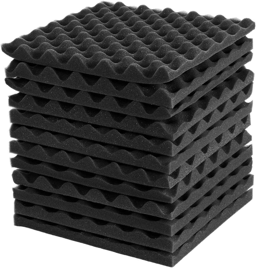 Mifty Cheap mail order sales Ranking TOP2 Soundproofing Acoustic Foam 12 Soundproof of Pieces Studio