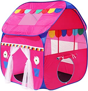 Homecute Foldable Pop Up Hut Type Kids Toy Play Tent House - Pink