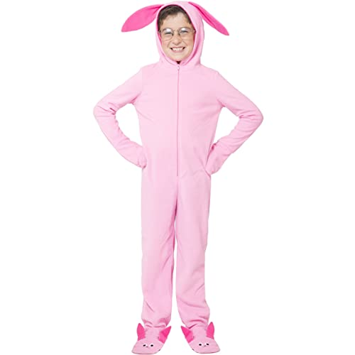 A Christmas Story Kid Wrapped Up.Ralphie Bunny Suit Amazon Com
