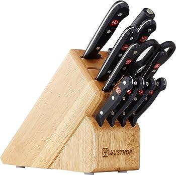 Wusthof Gourmet 12-Piece Kitchen Knife Block Set