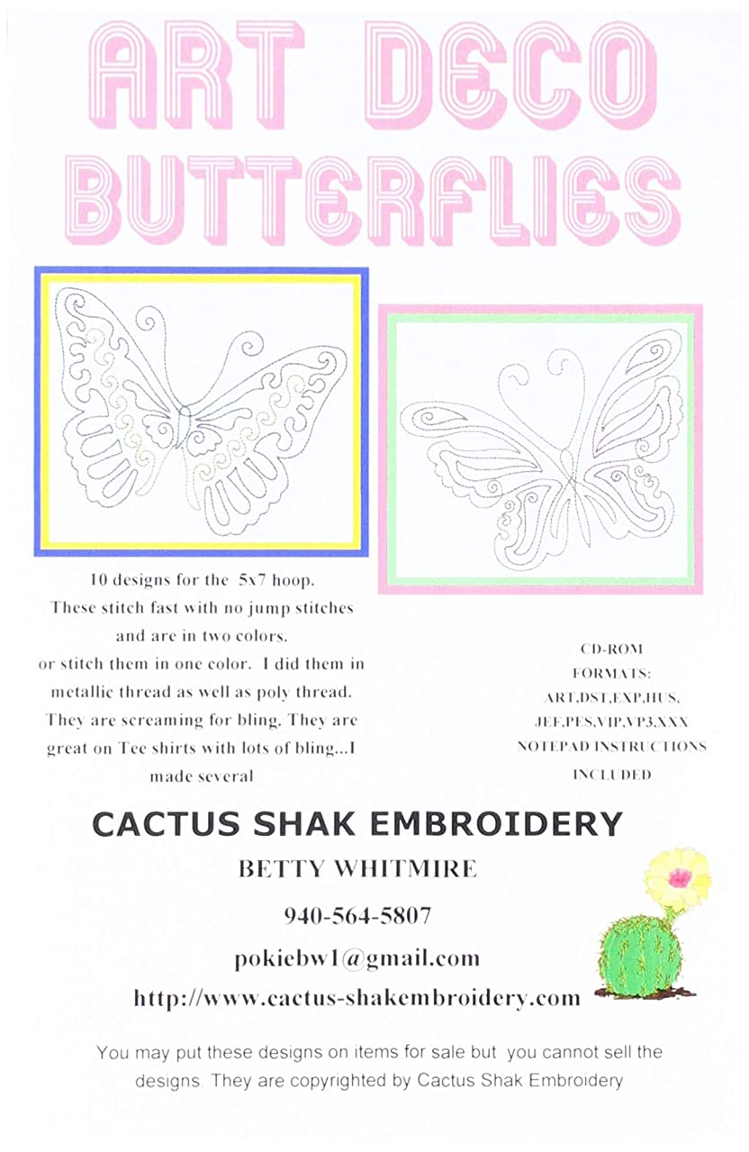 Cactus Shak Embroidery CC131 Pattern
