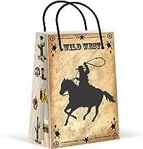 Premium Cowboy Party Bags, Wild West Favor Bags, New, Treat Bags, Gift Bags, Goody Bags, Party Favors, Party Supplies, Decorations, 12 Pack