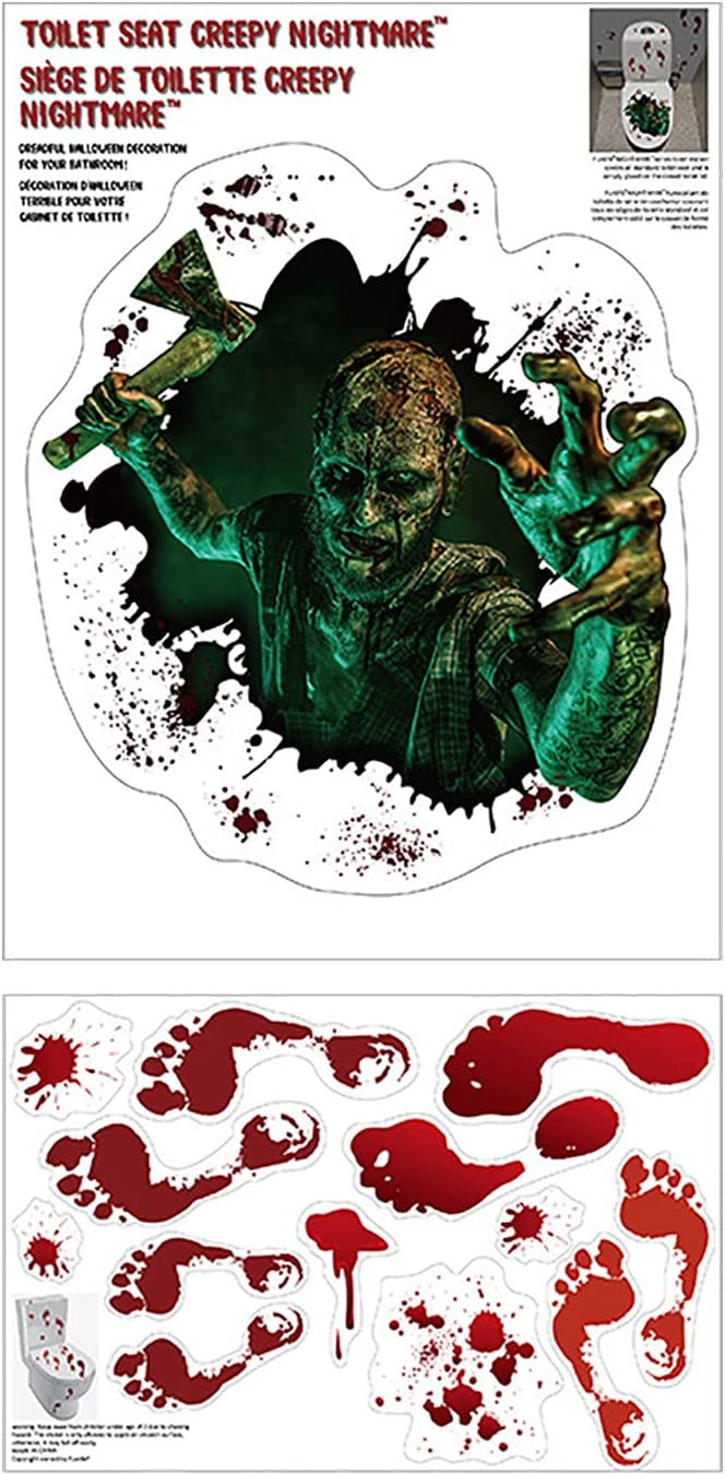 Mul-king Halloween SEAL limited product Series Axe Ghost Scarry for Stickers Toilet sold out