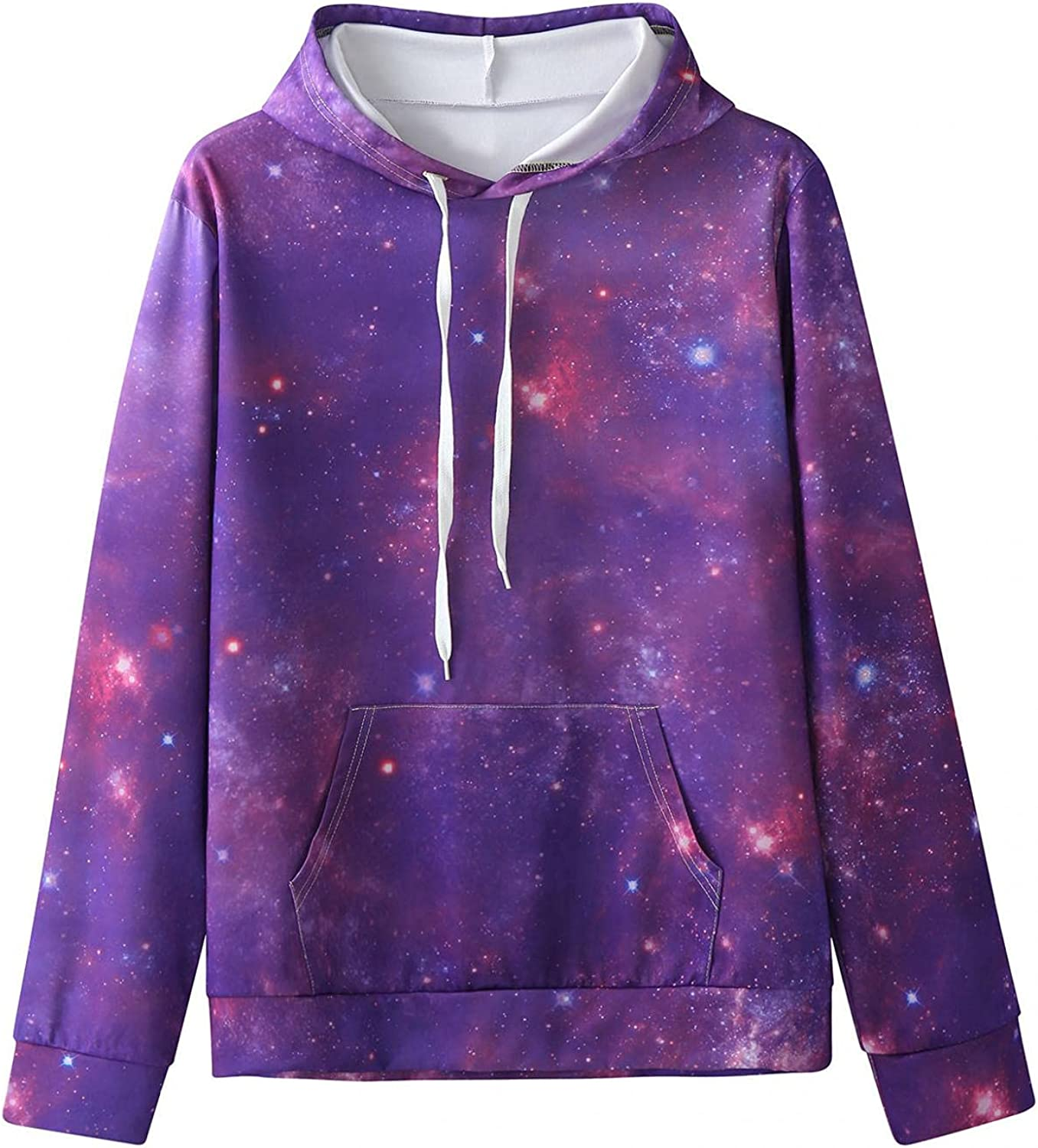 VEKDONE Unisex Regular discount Women Men Novelty Hoodies Funny Sleeves Long P National products 3D