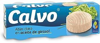 Calvo - Atun claro aceite girasol - 80g