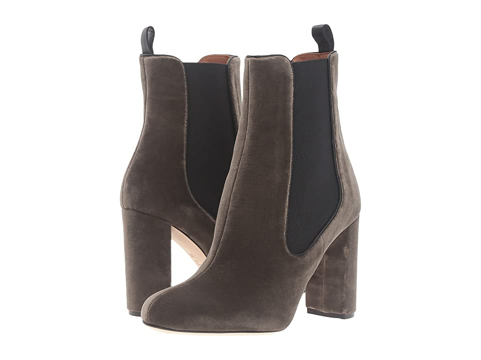 M Missoni Leather Ankle Boots (Olive) Women