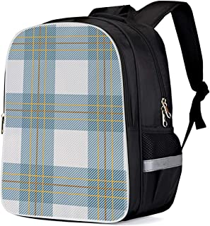 Cool 3D English Kilt Material Pattern Scotland Children School Book Bag Kids Printing Backpacks