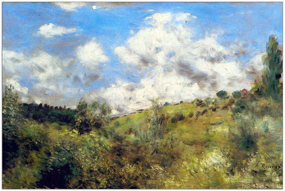 ArtPlaza Renoir Pierre-Auguste - Special price Landscape 39. Decorative Panel Inventory cleanup selling sale