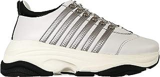dsquared Scarpe Uomo Sneakers in Pelle Bumpy 551SNM0059 01502074 M1616 Bianco