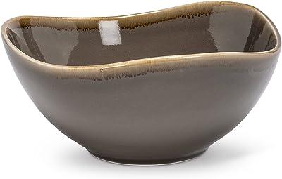 Amazon.com: orgbh Laca y bandeja de madera de bambú), Bambú ...
